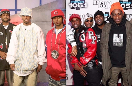"THIS IS NOT A DRILL. A Dipset Reunion is Going Down at Spotify's ""Rap Caviar,"" Along With A$AP Mob."